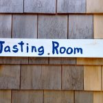 Tasting Room sign at Monhegan Brewing Company