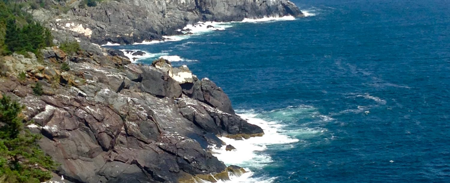 Monhegan Island Cliffs