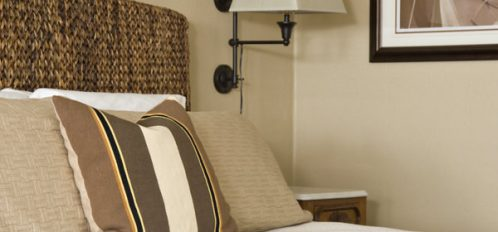 Well appointed guest room with modern amenities
