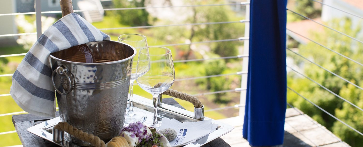 Enjoy local wines and hand crafted cheese boards and charcuterie on the covered sitting porch