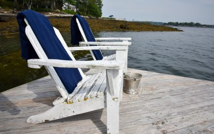 Relax and enjoy the peace and calm of the Maine ocean
