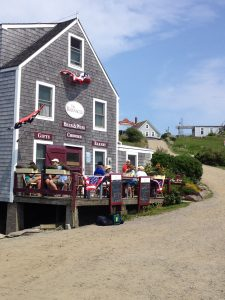 The Barnacle Cafe on Monhegan Island
