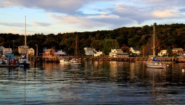 boothbay harbor view