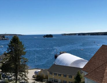 Panoramic views of Boothbay Harbor