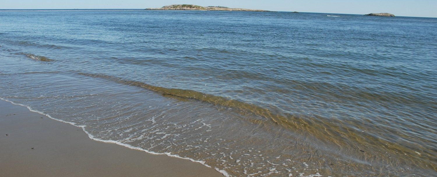 Popham Beach, one of the best beaches near Boothbay Harbor, ME