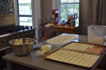 behind the scenes in the topside inn kitchen