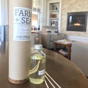 Topside signature scented reed diffuser by Farm + Sea