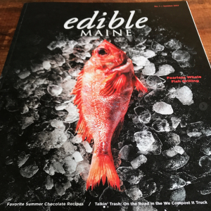 Cover of Edible Maine Magazine