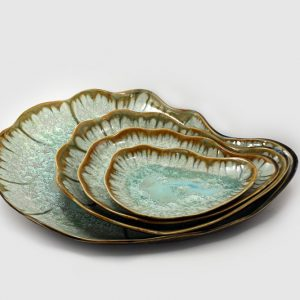 Oyster series plates by Ae Home