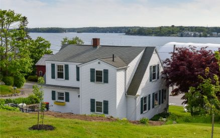 "The ""Dock House"" is near the water with great harbor views"
