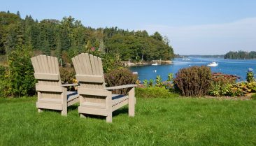Boothbay Harbor chairs